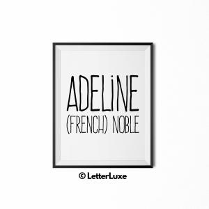 Adeline Definition