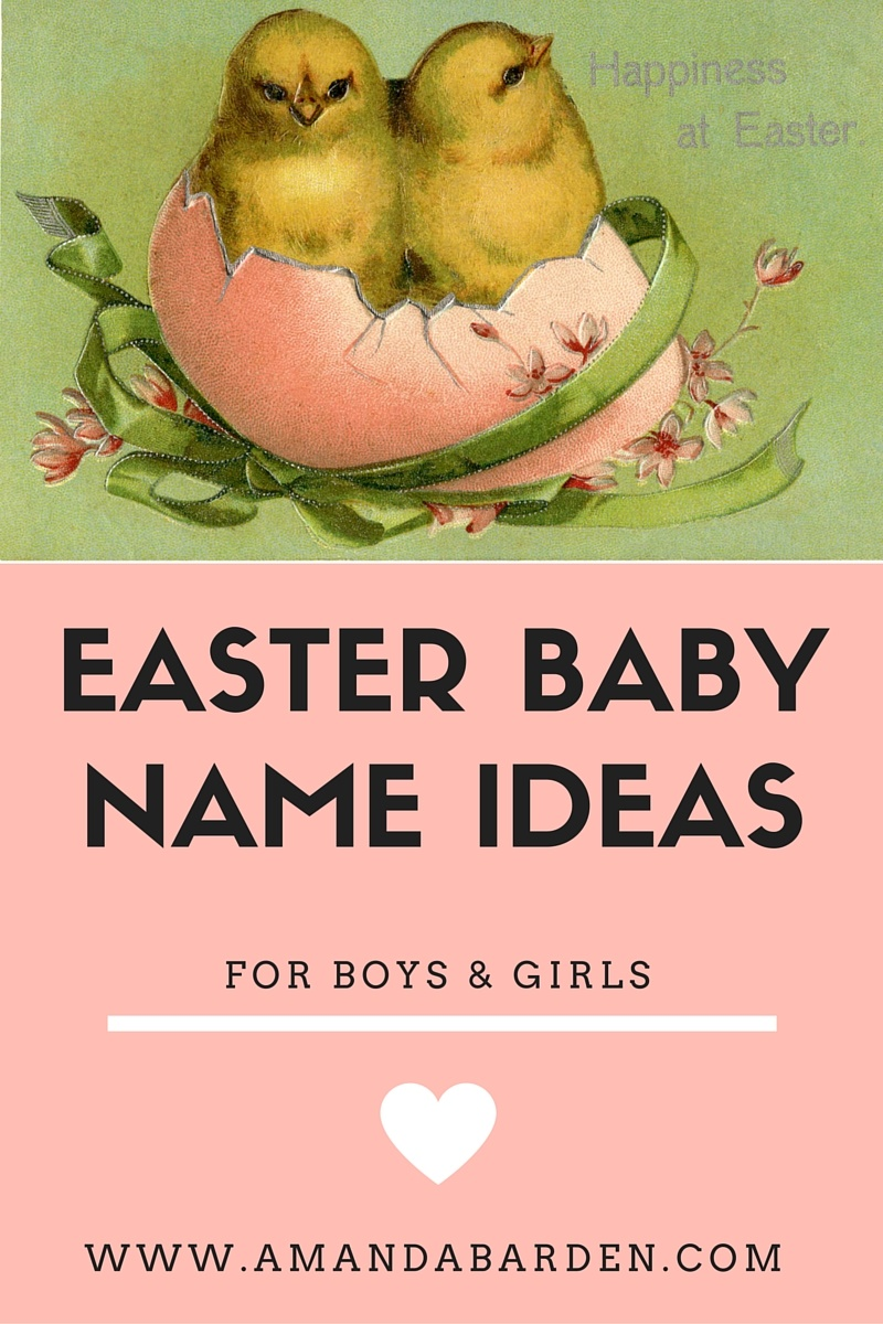 Easter baby name ideas