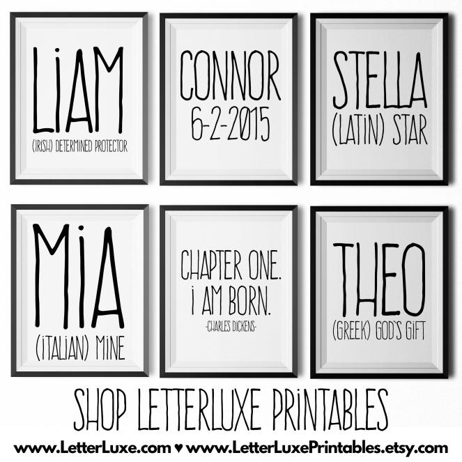 Shop LetterLuxe Printables Online