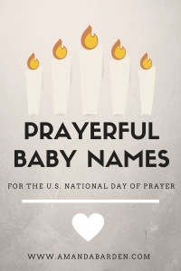prayerful baby names