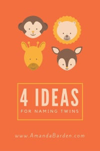 4 ideas for naming twins