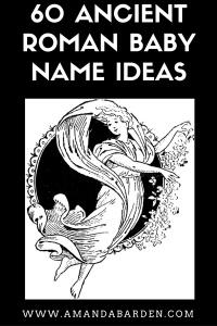 60 ancient roman baby name ideas